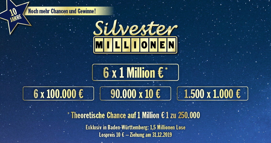 Silvester Lose Baden WГјrttemberg 2020