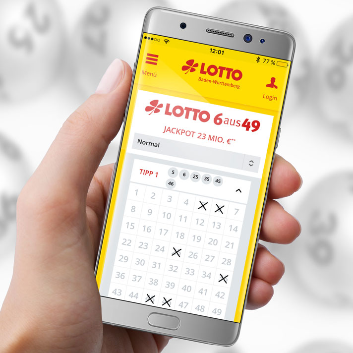 Lotto-Bw.De App